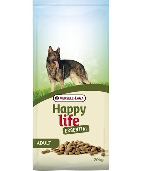 Happy Life Adult Essential 20+3 kg gratis Kurczak