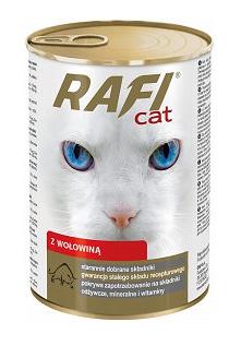Puszka dla kota RAFI 415g Wołowina