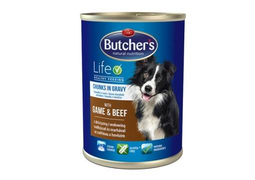 Butcher's Life z dziczyzną i wołowiną 400g
