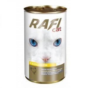 Karma dla kota RAFI CAT 415g - kurczak