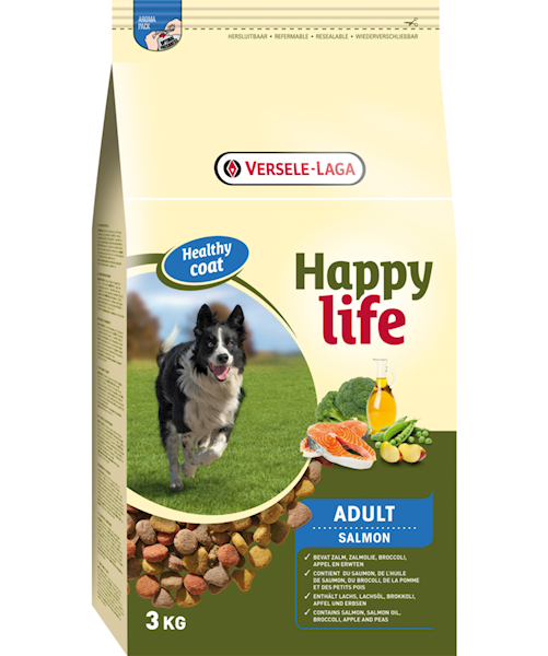 Happy Life Adult Lamb/Salmon 15 kg