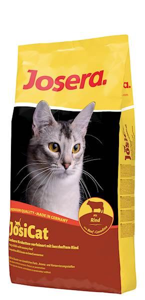 Karma dla kota Josicat 10kg Wołowina