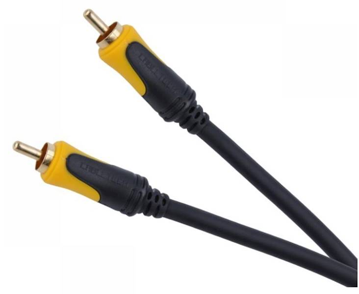 Kabel 1RCA wtyk - 1RCA wtyk 5m Cabletech