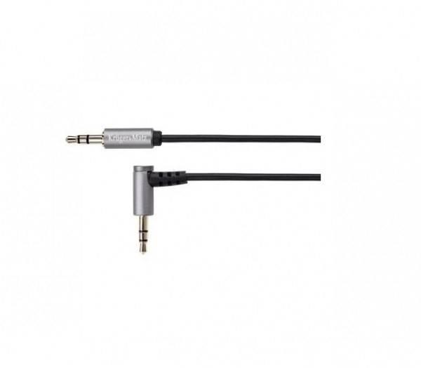Kabel Jack 3,5 wtyk prosty - 3,5 wtyk kątowy 1,8m