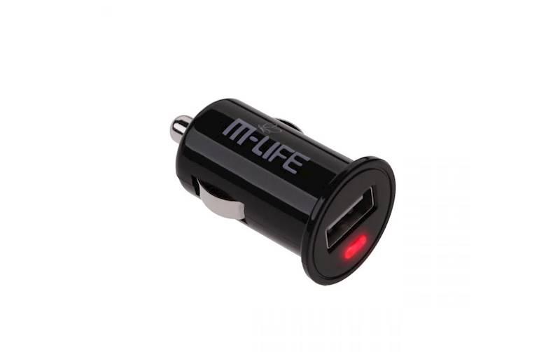 Ładowarka samochodowa M-LIFE gniazdo USB 1A
