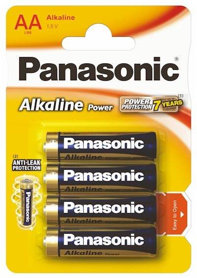 Bateria AA Panasonic POWER ALKALINE
