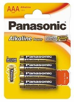 Bateria AAA Panasonic POWER ALKALINE