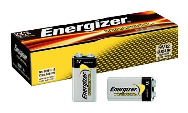 Bateria 6LR61  energizer alkaline power 9V