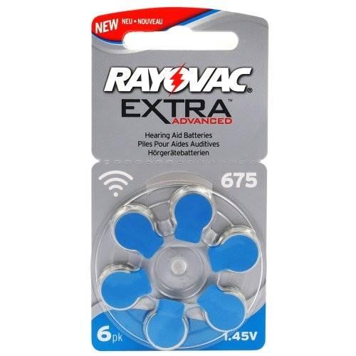 Bateria do aparatu słuchowego 675 6BL RAYOVAC