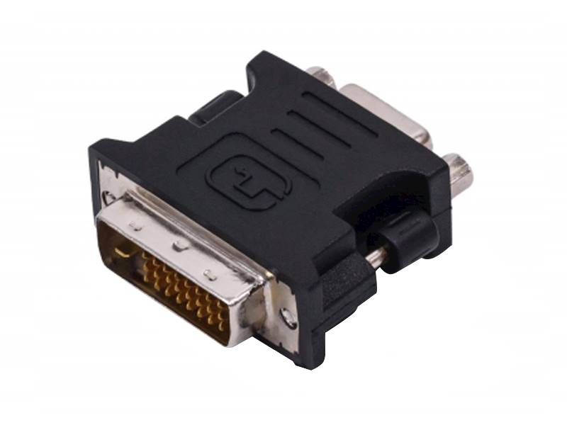 Złącze wtyk DVI24+5 - gniazdo VGA15pin