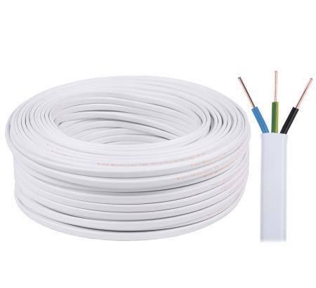 Kabel elektryczny YDYp 3 x 1,5 450/750V płaski
