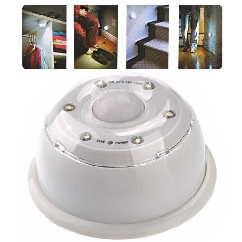Lampka LED czujnik ruchu na bataterie AAA