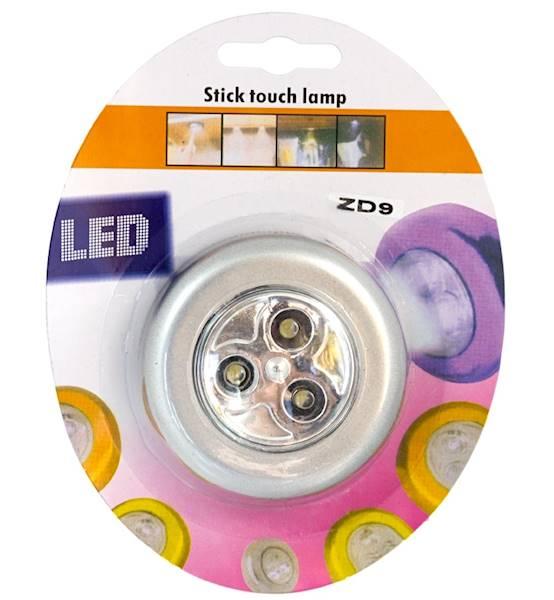 Lampka 3LED samoprzylepna
