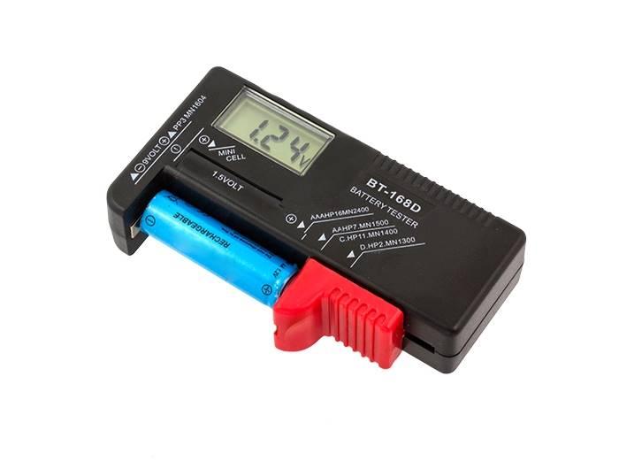 Cyfrowy tester bateri AA AAA 9V