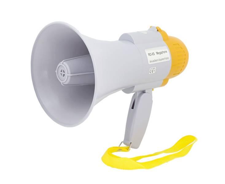 Megafon 15W syrena alarmowa