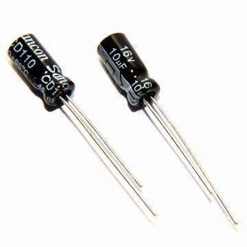 Kondensator elektrolityczny 100uF / 10V 5x5mm 105C
