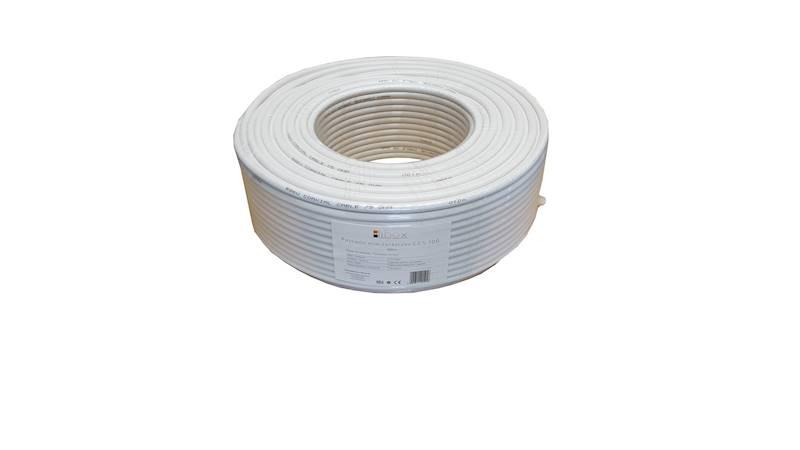 Kabel koncentryczny RG6U CCS 100 LIBOX