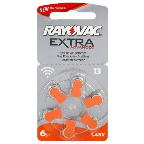 Bateria do aparatu słuchowego 13 6BL RAYOVAC