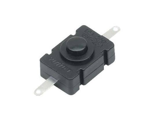 Przycisk PB-1812-B 1A 30V bistabilny do latarki