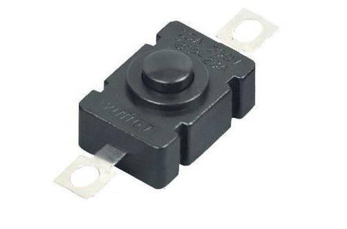 Przycisk PB-1812 1A 30V bistabilny do latarki