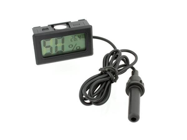 Higrometr termometr z sondą