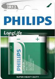 Bateria 3R12 Philips LONG life