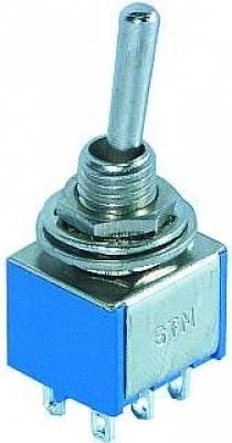 Przełącznik dźwigniowy MTS202 3A 250V podwójny