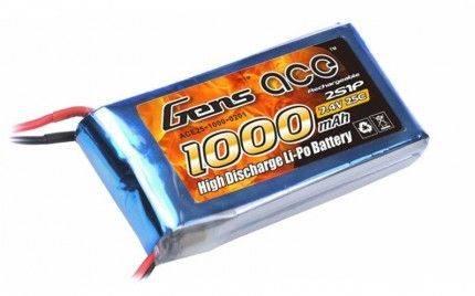 Akumulator 1000mAh 7.4V  LiPo Gens Ace