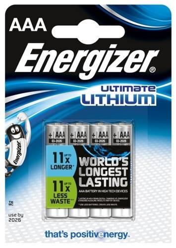 Bateria litowa L92 R03 Energizer