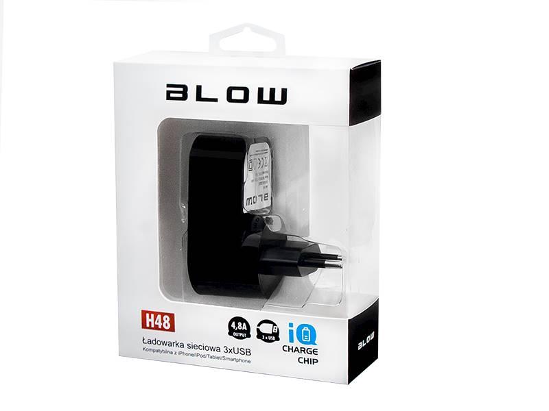 Ładowarka sieciowa 3 x USB BLOW