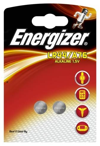 Bateria G13 LR44 A76  ENERGIZER