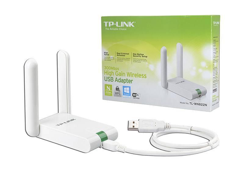 Karta Wi-Fi USB dużego zasięgu TP-Link 300Mb/s