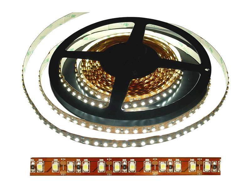 Taśma LED 12V biały zimny 600diód/5m 4,8W/m