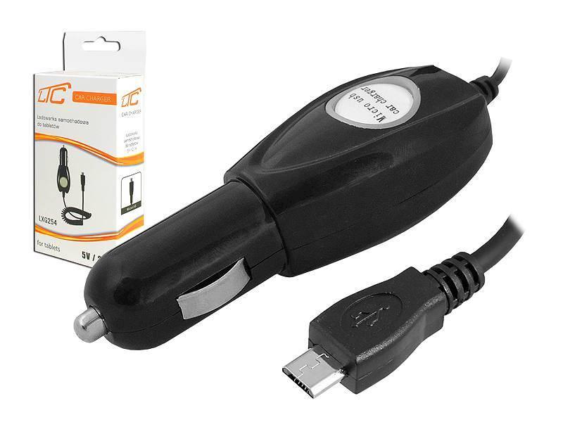 Ładowarka samochodowa MICRO USB 2.1A