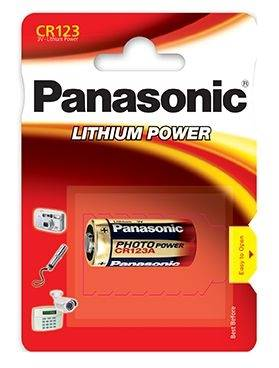 Bateria litowa CR123 Panasonic LITHIUM POWER