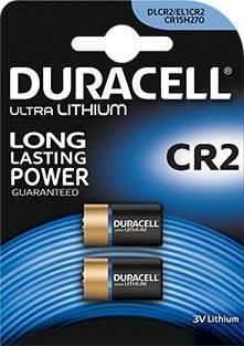 Bateria litowa CR2 DURACELL