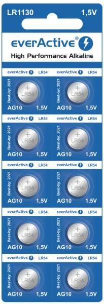 Bateria G10 LR1130 everActive Alkaline