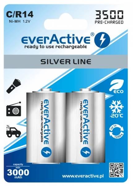Akumulator R14  2BL 3000mAh everActive