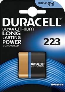 Bateria litowa CR223 CRP2 DURACELL