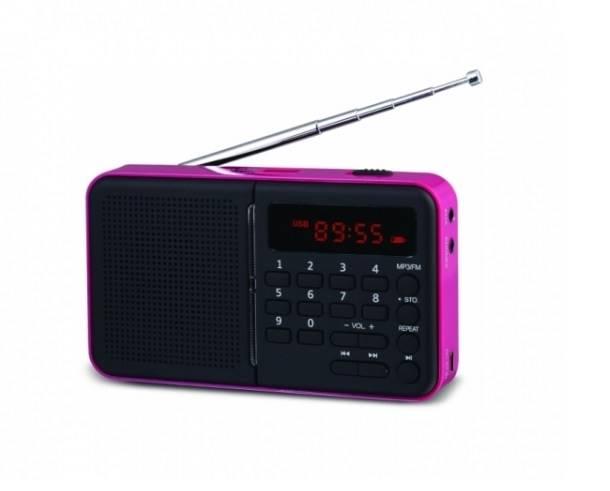 Radio koliber USB Eltra czarne