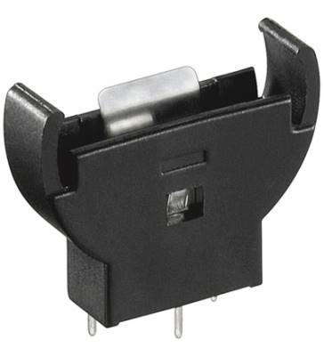 Podstawka baterii CR2032 (3V) pionowa