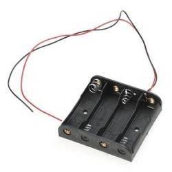 Koszyk na 4 baterie typu AA (1,5V)