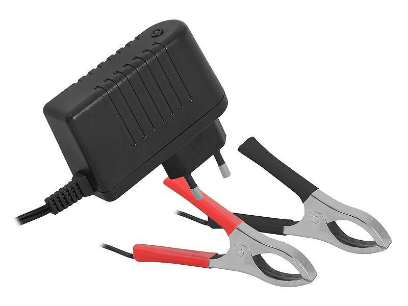Ładowarka do akumulatorów  żelowych 6V v1.5 LED