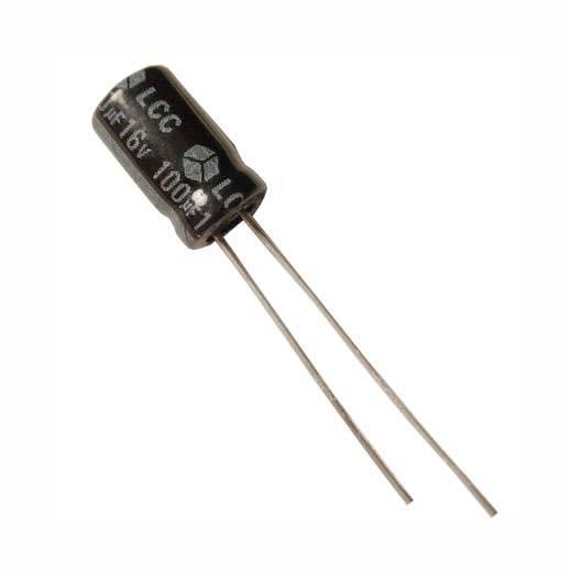 Kondensator elektrolityczny 100uF / 16V 105C