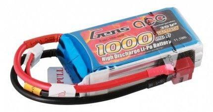 Akumulator 1000mAh 11.1V LiPo Gens Ace