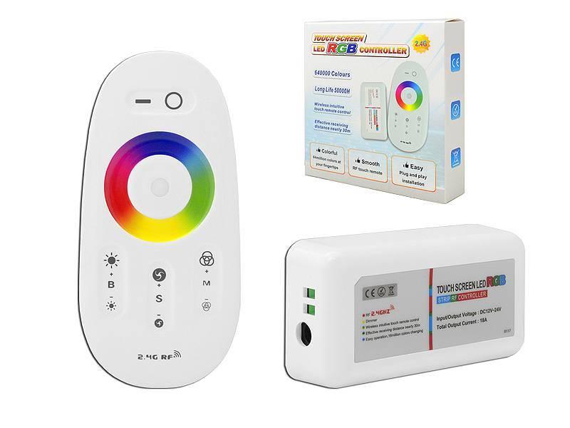 Sterownik RGB+W Mi-Light odbirnik + pilot