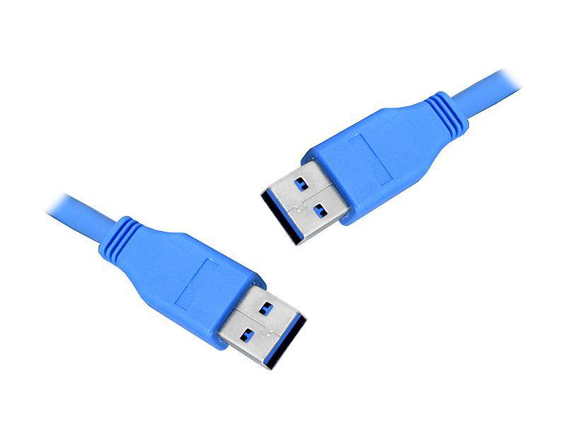 Kabel USB 3.0 wtyk A - USB 3.0 wtyk 1,8m