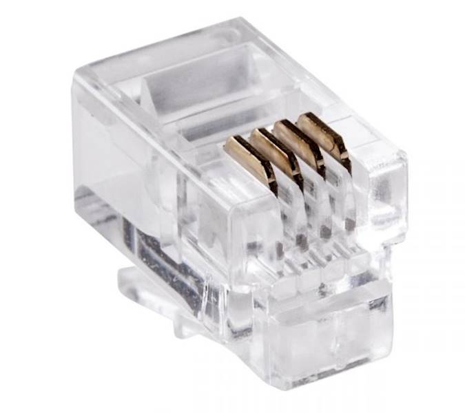 Wtyk telefoniczny RJ11 ( 4P4C )