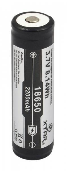 Akumulator z zabezpieczeniem XTAR 18650 2200mAh