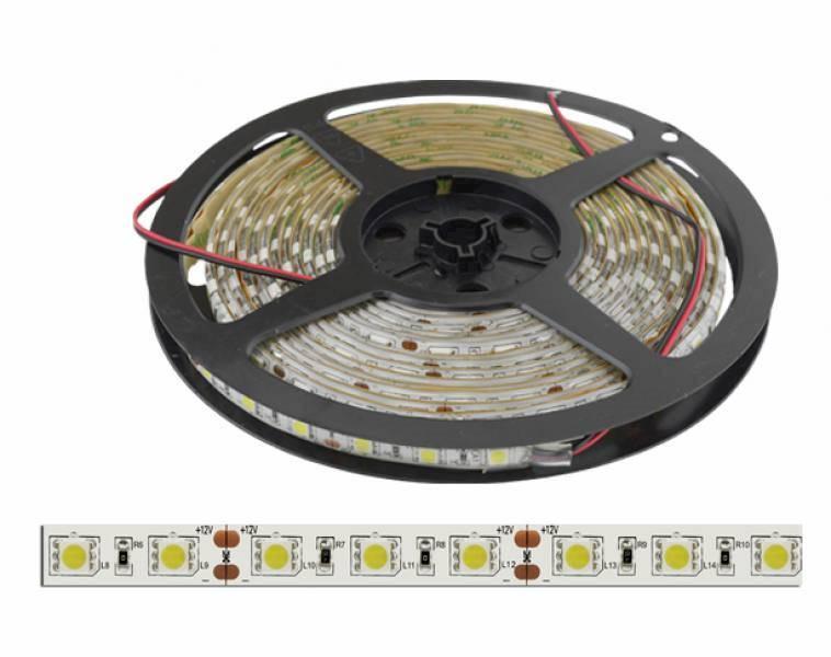 Taśma LED 5050 biały zimny 300diód/5m  wodoodporna